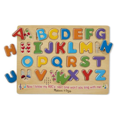 Melissa & Doug Alphabet Sound Puzzle - 26 Pieces