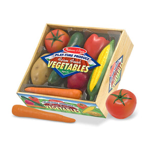 Melissa and Doug Play-Time Produce Vegetables - Play Food