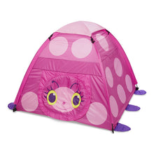 Melissa & Doug Sunny Patch Mollie Ladybug Camping Tent