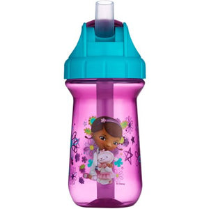 The First Years 10 oz Flip Top Straw Cup - Doc McStuffins/Sofia the First/Minnie/Mickey - Momitall.net