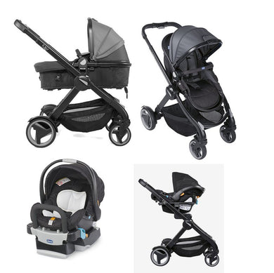 Chicco Fully Travel System - Car seat+Stroller+Adapter