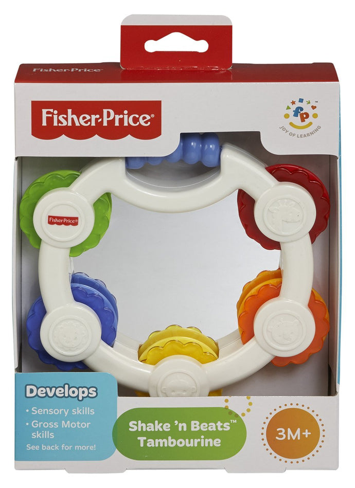 Fisher Price Shake N Beats Tambourine - Momitall.net