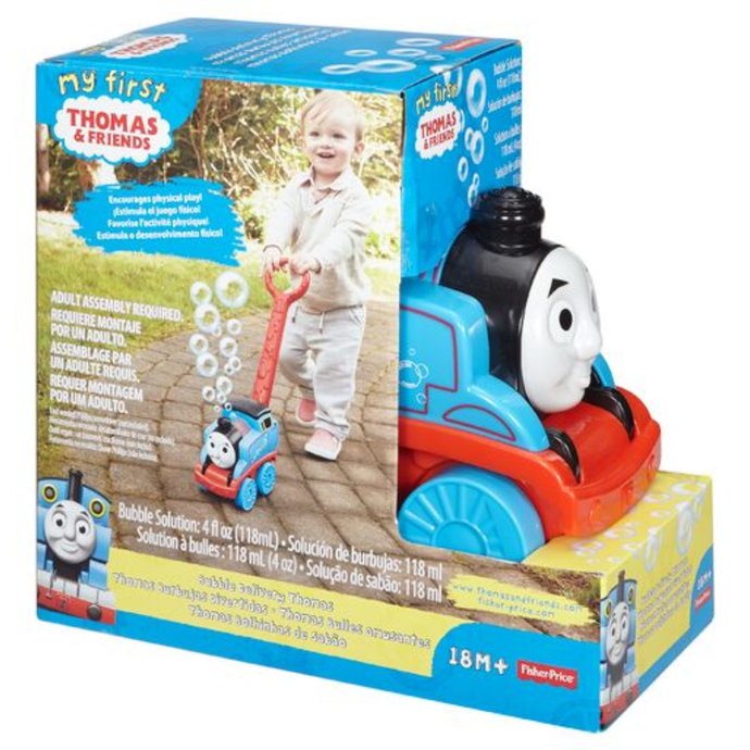 Fisher Price Thomas Bubble Delivery- 1y+ - Momitall.net