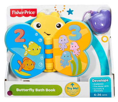 Fisher Price Butterfly Bath Book - Momitall.net