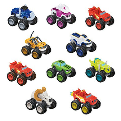 Fisher Price Blaze and the Monster Machines™ Small Plastic Cars Assortment - 3y+ - Momitall.net