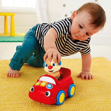 Fisher Price Laugh & Learn® Puppy's Smart Stages™ Push Car - Momitall.net