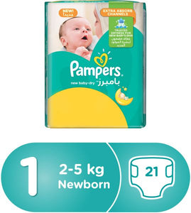Pampers New Baby Dry Diapers 1 - Momitall.net