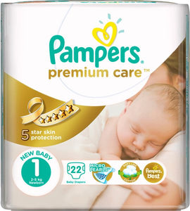 Pampers Premium Care Diapers 1 - Momitall.net