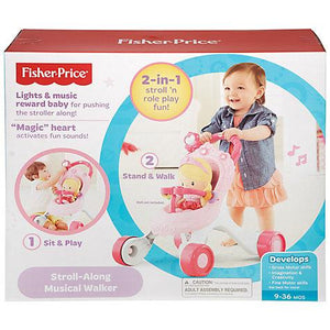 Fisher Price Princess Mommy Stroll - Momitall.net
