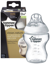 Tommee Tippee Closer to Nature Breast-like-teat Feeding Bottle 260 ml