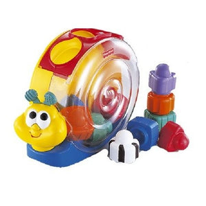 Fisher Price Bee-Bop Buildin' Singin' Snail Pail
