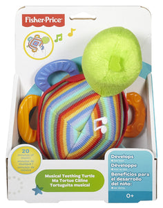 Fisher Price Musical Teething Turtle - Momitall.net