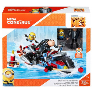 Fisher Price Mega Construx™ Despicable Me 3™ Gru's Water Motorbike - 6y+ - Momitall.net