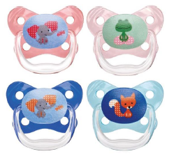 Dr Brown's Prevent Butterfly Pacifier, 6 to 12 month,  2- Pack