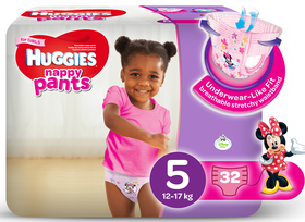 Huggies Pants 5 count 34 - Momitall.net