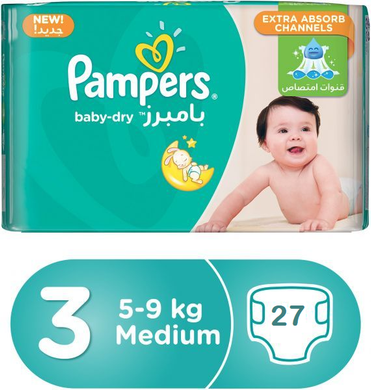 Pampers Baby Dry Diapers 3 - Momitall.net