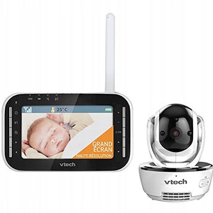 VTech BM4500 Safe & Sound Tilt & Pan Video & Audio Baby Monitor
