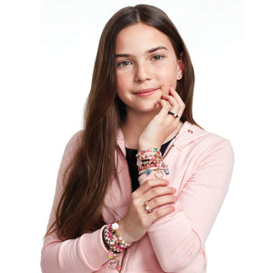 Make It Real Pink and precious bracelets