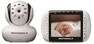 Motorola MBP36SC Video Baby Monitor - White - Momitall.net
