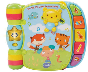 Vtech Jouet Musical - Do, Ré, Mi Super Livre Enchanté