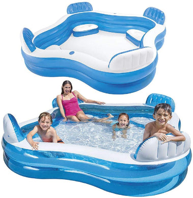 Intex Swim Center family lounge pool (229*229*66cm)