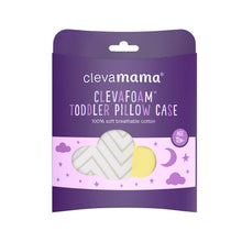 ClevaMama - ClevaFoam Toddler Pillow Case - Grey