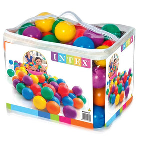Intex Fun Ballz - 100 Multi-Colored Plastic Balls, for Ages 2+