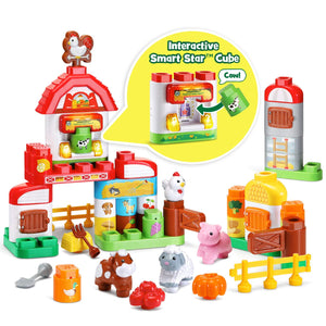 LeapFrog LeapBuilders Food Fun Family Farm