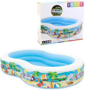 Intex Swim Center Paradise Inflatable Pool