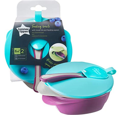 Tommee Tippee Easy Scoop Feeding Bowl and  Lid