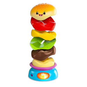 Bright Starts Giggling Gourmet Stack'n Spin Burger
