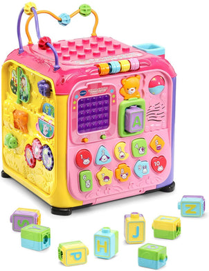 VTech Ultimate Alphabet Activity Cube (Pink)