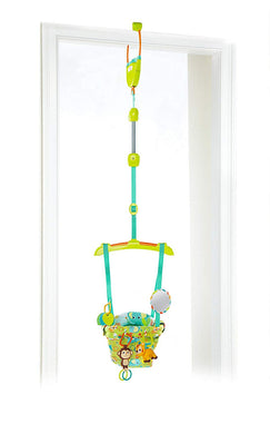 Bright Starts Smiling Safari Deluxe Baby Door Jumper