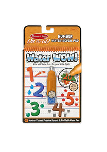 Melissa & Doug - Water Wow Numbers On The Go Travel Activity