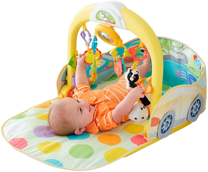 Fisher Price 3-in-1 Convertible Car Gym - Momitall.net