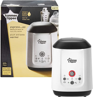 [Pre-Loved] Tommee Tippee Express & Go Bottle & Pouch Warmer
