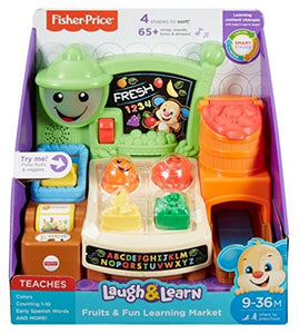 Fisher Price Fruits & Fun Learning Market - Momitall.net