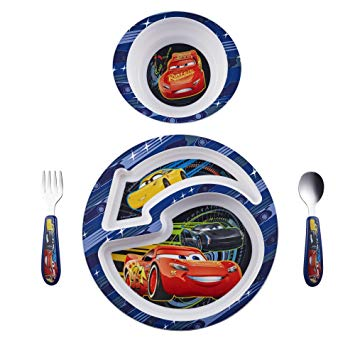 The First Years - Cars 4pc Feeding Set - Momitall.net