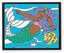Melissa & Doug On the Go Stained Glass Coloring Pad - Fairy Tale