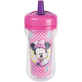 The First Years Mickey/Minnie Mouse Insulated Straw Cup - Momitall.net