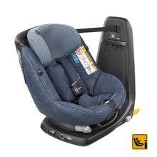 Bebe Confort Axiss ISOFix Air Carseat- Black/Grey/Blue