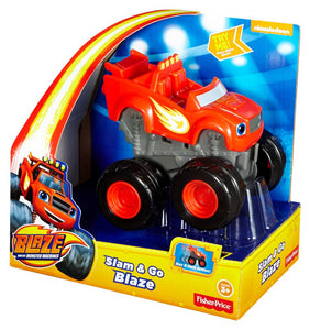 Fisher Price Blaze and the Monster Machines Slam & Go Blaze - 3y+