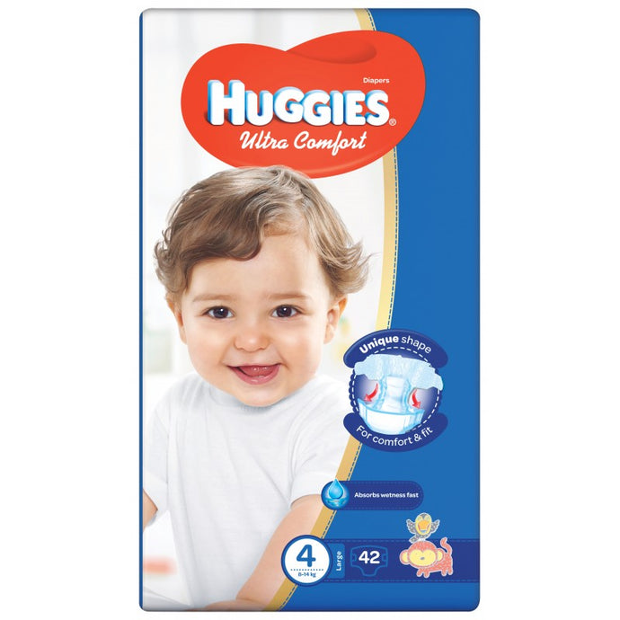 Huggies Ultra Comfort Jumbo Size Diapers 4 - Momitall.net