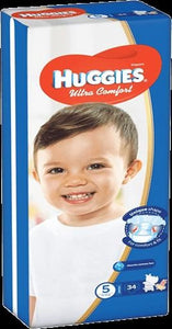 Huggies Ultra Comfort Jumbo Size Diapers 5 - Momitall.net