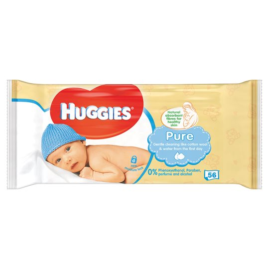 Huggies Pure Baby Wipes - Momitall.net
