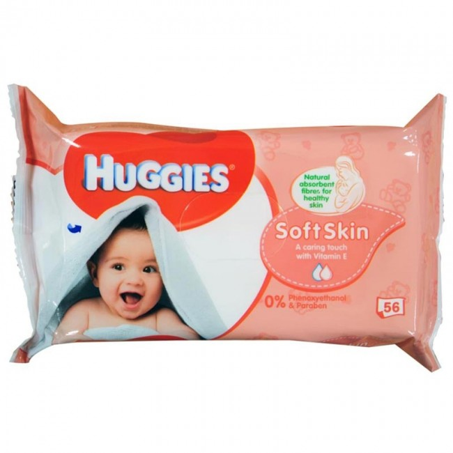 Huggies Soft Skin Baby Wipes - Momitall.net