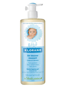 Klorane bebe Hair and Body Gentle Foaming Gel - Momitall.net