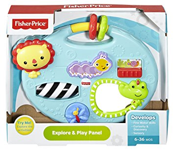 Fisher Price Explore & Play Panel - 1y+