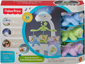 Fisher Price 3-in-1 Deluxe Projection Mobile