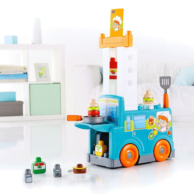 Fisher Price Mega Bloks® Food Truck Kitchen - 1y+ - Momitall.net